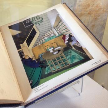Interieurs Français: Presentes par Jean Badovici, Architecte Badovici, Jean Paris, Editions Albert Morance, 1925 40 leaves of plates; as issued, in a portfolio Special Collections, 747.24 B137